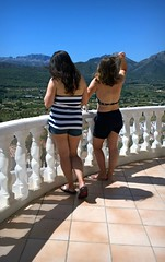 Spain 2016 - 24 July 2016 - Nokia Lumia 1020 - Lisa & Tess on the balcony (TempusVolat) Tags: picmonkey gareth wonfor tempusvolat garethwonfor tempus volat mrmorodo girls women woman girl beautiful summer balcony legs view scenery mountains spain 2016 wife sisterinlaw tanlines tanned tan lisa tess nokia lumia 1020 mobilephone short shorts style stylish elegant holiday spainholiday spain2016 vacance