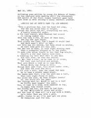 Telosky poem - Jim Robson (Maple Ridge Museum & Archives) Tags: baseball history hammond mapleridge