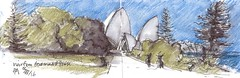 Opera House - NSW Government House (panda1.grafix) Tags: sydneyharbour sydneyoperahouse nswgovernmenthouse sketch harbour pencilinkwash