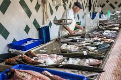 A variety of fishes at the market (Staffan Swede) Tags: fish fisk market marknad mercadodagraca merchant handlare azores azorerna pontadelgada