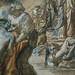 CHASSERIAU Théodore,1840 - Diane et Actéon, Etude (drawing, dessin, disegno-Louvre RF24456) - Detail 12