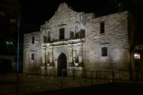 From flickr.com: The Alamo at Night {MID-71051}