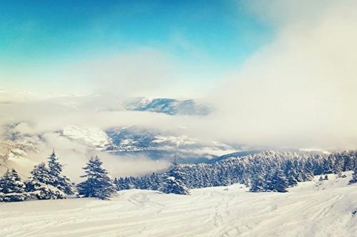 Winter auf der Schmittenhöhe