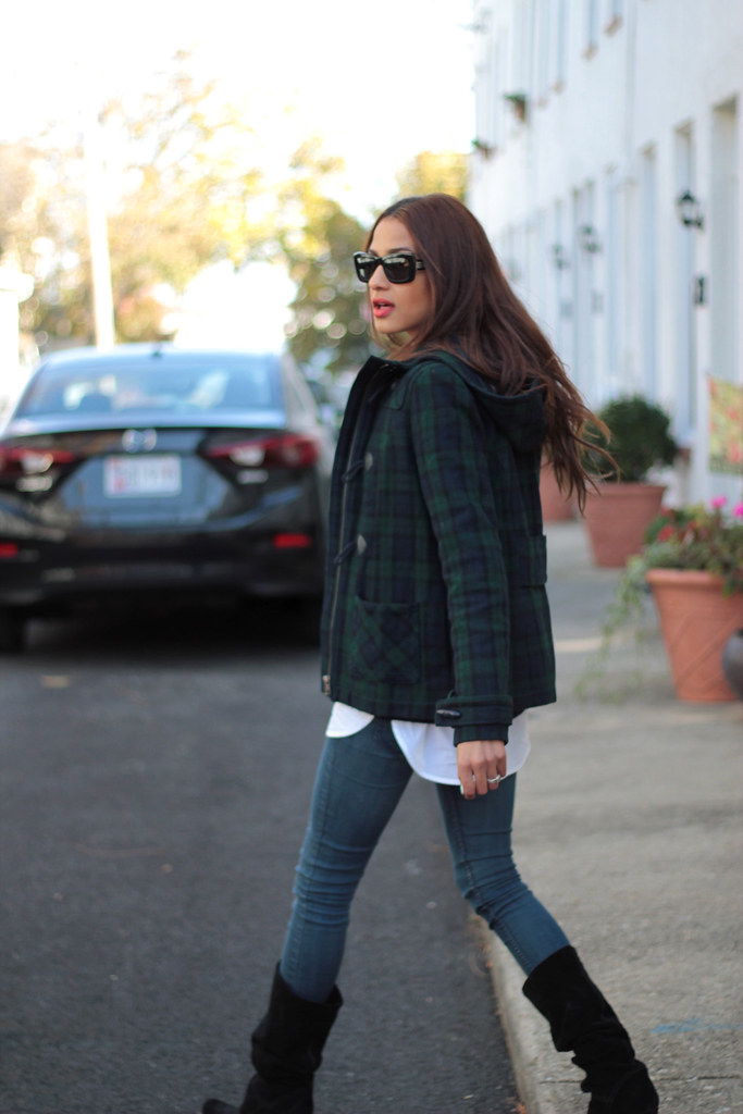 Plaid and My favorite chloe sunglasses 6