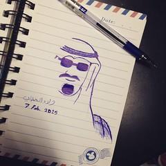 لاتنسوه من دعاكم ❤️ #الملك_عبدالله #draw #king #abdullah (Willey 3K) Tags: square squareformat crema iphoneography instagramapp uploaded:by=instagram