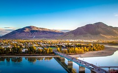 North Shore (evanffitzer) Tags: city morning bridge mountains cars water river photography early town photographer britishcolumbia rivers kamloops canoneos60d evanffitzer evanfitzer
