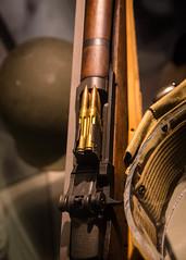 M1 Rifle Detail - National Museum of American History (ESHELMS) Tags: smithsonian pentax m1 rifle americanhistory tamron1750 pentaxk30