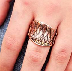 5th Avenue Copper Ring K1 P4320-3