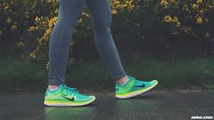 nike flyknit free 4.0 (thatgirlwiththekicks) Tags: street ireland dublin woman girl shoes turquoise free sneakers nike runners kicks 40 lime volt leggings swoosh gorse fingal balbriggan flyknit