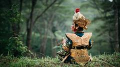 Take a Break (eggysayoga) Tags: portrait bali green girl forest indonesia temple 50mm dance costume nikon women asia f14 traditional 14 dancer hutan legong tari tradisional tarian f14d d810 penari vsco