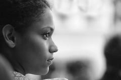 People Watching (gpa.1001) Tags: portrait paris france girl profile montmartre nikkor80200f28 cmwdblackandwhite