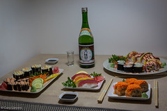 "Sushi Night • <a style=""font-size:0.8em;"" href=""http://www.flickr.com/photos/92159645@N05/16048838687/"" target=""_blank"">View on Flickr</a>"