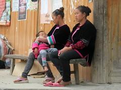 Dong minority people (Linda DV (back, catching up)) Tags: china travel geotagged guizhou ethnic minority dong 2014 geomapped xiaohuang lindadevolder picmonkey:app=editor congjangcounty