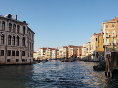 Grand Canal at Ponte di Rialto (AMcUK) Tags: venice vacation italy holiday olympus venezia grandcanal rialto olympusepl5 epl5 october28th2014
