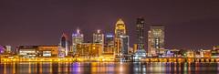 Louisville KY (bazzaqpr) Tags: ohio skyline river kentucky nightime louisville