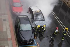 Step3 (pedritop (www.ppedreira.com)) Tags: ford fire focus coruña coche fuego incendio bomberos vehiculo sanandres 2015 extinción cmax