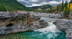 Elbow Falls (qualistat) Tags: autumn fall water river landscape waterfall scenery falls elbowfalls southernalberta cans2s qualistat