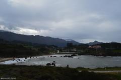 (AljdLo13) Tags: sea espaa costa beach spain agua nieve asturias playa nubes prado llanes montaas asturiana atarceder 2015