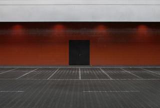 a black door
