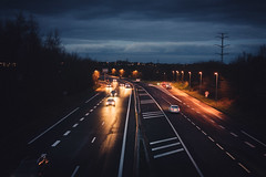 Day 6 - A part of your life (victor.dugue) Tags: road camera cars car night project lens 50mm one nikon highway days flare 365 50 365daysproject