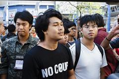 20150214-เลือกตั้งที่ลัก -83 (Sora_Wong69) Tags: people thailand bangkok protest police liberalism activist politic assembly coupdetat nonviolenceaction supportelection
