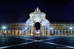 Lisbon - Lisboa - Portugal - Terreiro do Paço - Praça do Comércio - Rua Augusta (Carlos Alkmin) Tags: portugal europa lisboa lisbon ruaaugusta attraction iberia arcotriunfal praçadocomércio terreirodopaço