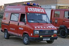 Bombers d'Almacelles (v.p.c) Tags: rescue del fiat feuerwehr bomberos firefighters fuoco bombers pompiers vigili ducato 30350 dalmacelles