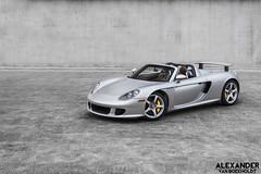 Porsche Carrera GT Shoot (Spykerforce) Tags: concrete grey photo shoot foto photoshoot porsche gt cocoa v10 carrera silber