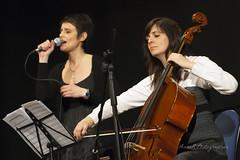 Max De Aloe & Marlise Goidanich Duo (Anna R. Photographer) Tags: music duo jazz voice musica armonica voce violoncello gallarate cromatica maxdealoe marlisegoidanich antonellamontrasio