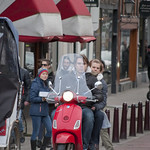 "Vespa on Amsterdam streets<a href=""http://www.flickr.com/photos/28211982@N07/16577570620/"" target=""_blank"">View on Flickr</a>"