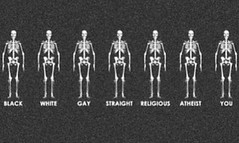 Not my pic.  WE ARE ALL THE SAME !!! (LdeLou) Tags: rights humans equal