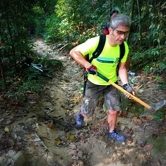 TRAKS-Trail-Day-Feb-2015-001 (Traks Of Malaysia) Tags: mountainbike malaysia mtb traks trailbuilding bukitkiara