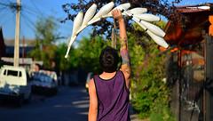 Equilibrio (Nicolas PhotoArt) Tags: club nikon juggling juggler stylo padrehurtado lrg cabas clavas d5100 clabas