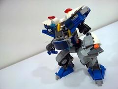 police mech3 (chubbybots) Tags: lego mech