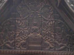 Carved wooden frieze, Wat Si Saket
