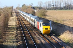 43319 Gosberton Risegate 07.03.15 (jonf45 - 2.5 million views-Thank you) Tags: city speed train coast high br rail trains class line east virgin british ge railways joint gc 43 inter 125 diversion hst spalding 2015 ecml sleaford 43319 gosberton risegate