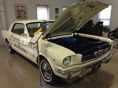 1964 1-2 Ford Mustang Pace Car (robtm2010) Tags: auto usa ford car automobile massachusetts newengland vehicle mustang pacecar musclecar 5c seekonk iphone motorvehicle 1946and12