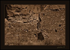 Chaco Canyon D (the Gallopping Geezer 3.5 million + views....) Tags: park house newmexico building history abandoned home canon religious nationalpark ruins decay faith religion culture roadtrip canyon structure historic faded worn ghosttown weathered chaco decayed geezer 2007 corel dwelling west07927