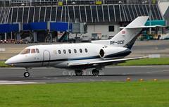OE-GCE (Ken Meegan) Tags: dublin hs125 hawker800xp 258536 bae125800xp goldeckflug oegce 1072016
