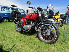 Ackworth Steam Rally 17.7.2016 (7) (bebopalieuday) Tags: motorbike motorcycle spitfire 1968 westyorkshire pontefract bsa steamrally classicbike a65 650cc ackworth
