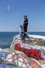 Howard Maternity shoot for kiddo #2 (wrightontheroad) Tags: graffiti pregnancy sunkencity dangerousshoot decay destruction maternity portrait pregnant rubble sanpedro california unitedstates