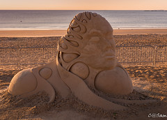 SSS_0199 (Sam 8899) Tags: sand sculpture beach sunrise morning light sky sea color