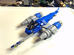 """NEO classic """"space"""" WIP (vikingforhire) Tags: scifi fighter starfighter spacefighter starship spaceship space lego"""