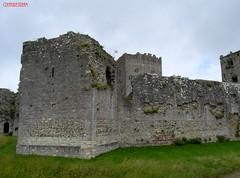 Portchester Castle Hampshire UK (CreatureStream) Tags: uk castle hampshire portchester