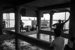 Ganges - Varanasi (dsaravanane) Tags: saravanan dhandapani dsaravanane yesdee yesdeephotography yesdee saravanandhandapani streetphotography life streetlife bw varanasi up india ganges lifeinganges riverganga varanasi2016 floodinganges monsoonvaranasi ricohgrii ricoh grii grii gr2