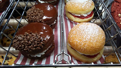 MORE SWEETS ! (kingkong21) Tags: timhortons donut strawberryshortcake chocolatewhoopiepie