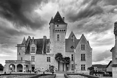 Chteau des Milandes (JGOM) Tags: bw france baker dordogne des josephine frankrijk zwart wit chteau kasteel milandes castelnaudlachapelle