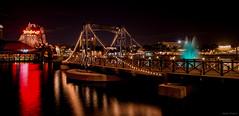 A Bridge (mwjw) Tags: longexposure orlando nightshot florida disney disneyworld downtowndisney nikon24120mm markwalter nikond800 mwjw disneysprings