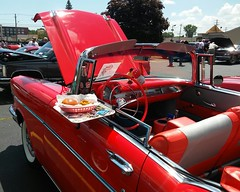 1950's Car Show Cars Classic Classic Car Food Tray at Frisch's Big Boy (sobieniak) Tags: food classic cars classiccar 1950s tray carshow