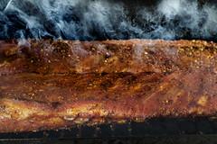 Smokin! (magnetic_red) Tags: smoke smoking ribs cook cooking bbq backyard food meat grill rub